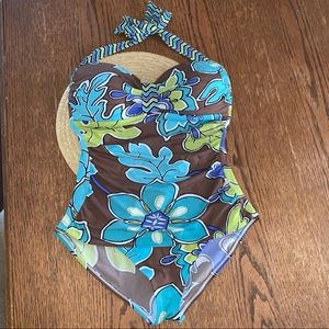 Tommy Bahama Tankini One- Piece Swim Suit